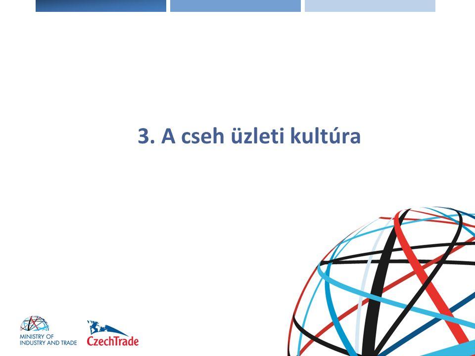 3. A cseh üzleti kultúra
