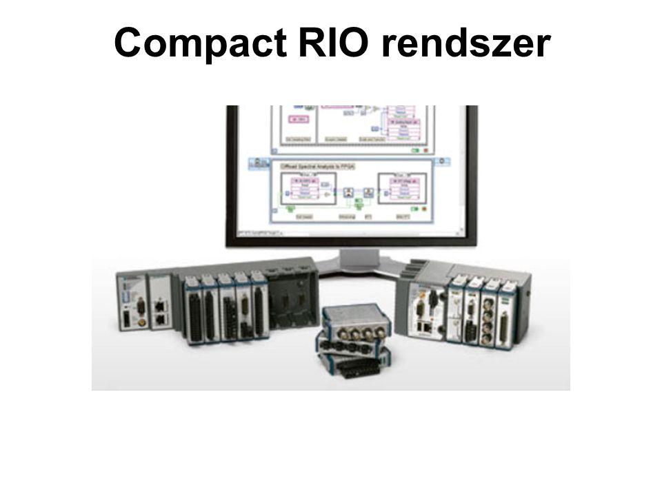 Compact RIO rendszer