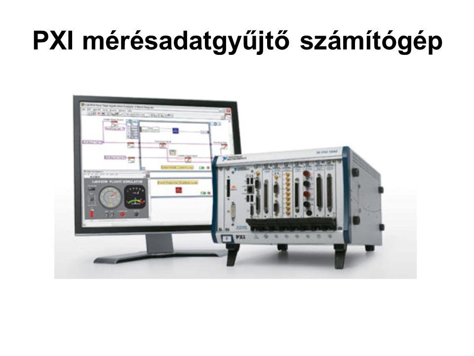 PXI mérésadatgyűjtő számítógép