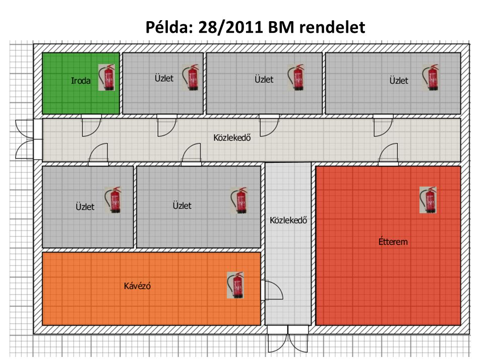 Példa: 28/2011 BM rendelet
