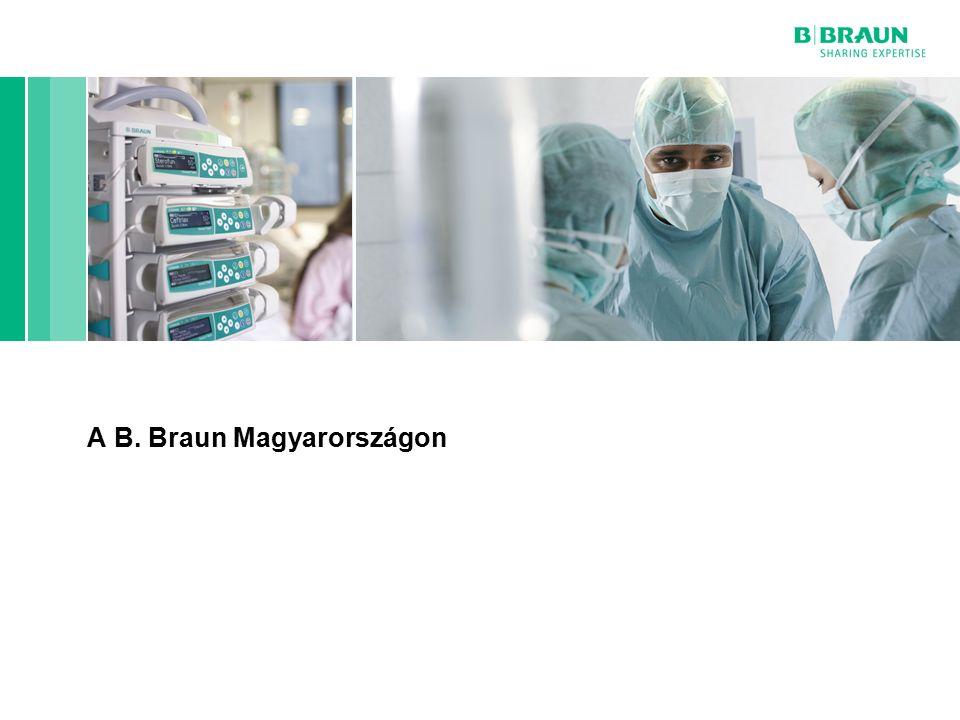 B. Braun cégcsoport | Horn Péter | Egészségügyi Menedzser Klub | Page A B. Braun Magyarországon
