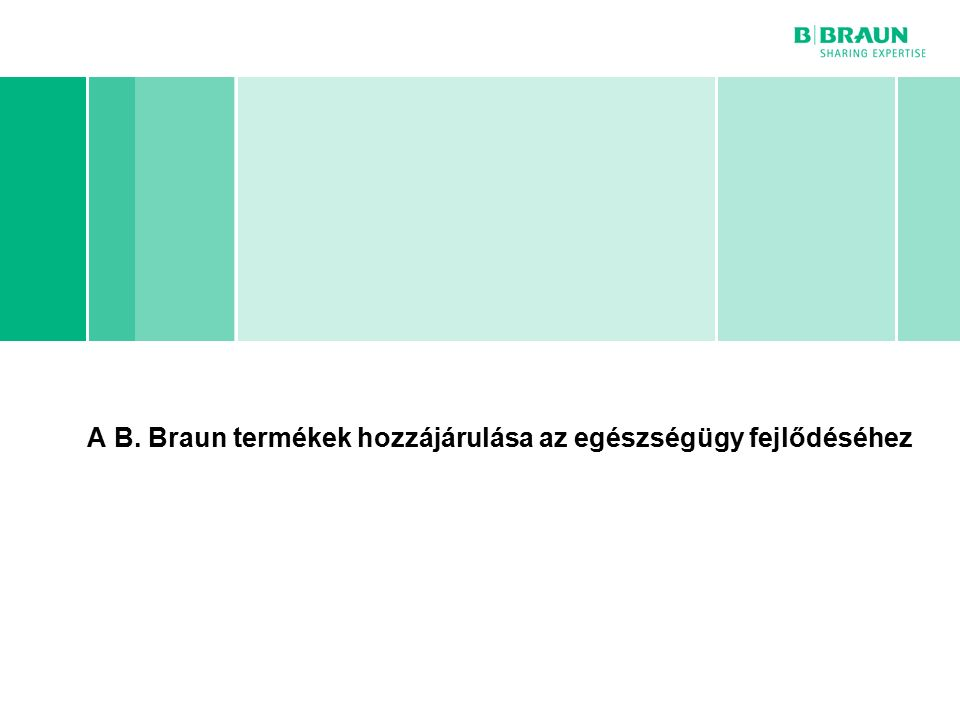 B. Braun cégcsoport | Horn Péter | Egészségügyi Menedzser Klub | Page A B.