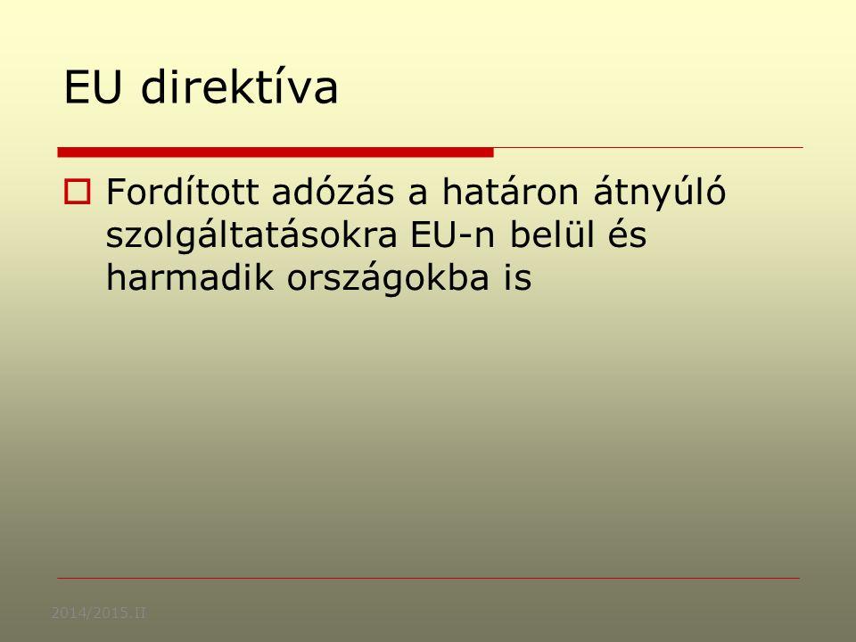 2008/2009 II.Dr Lakatos Mária: ADÓZÁS I.Áfa kulcsok a 70-es években Ausztria20 %10 % Franciaorsz.