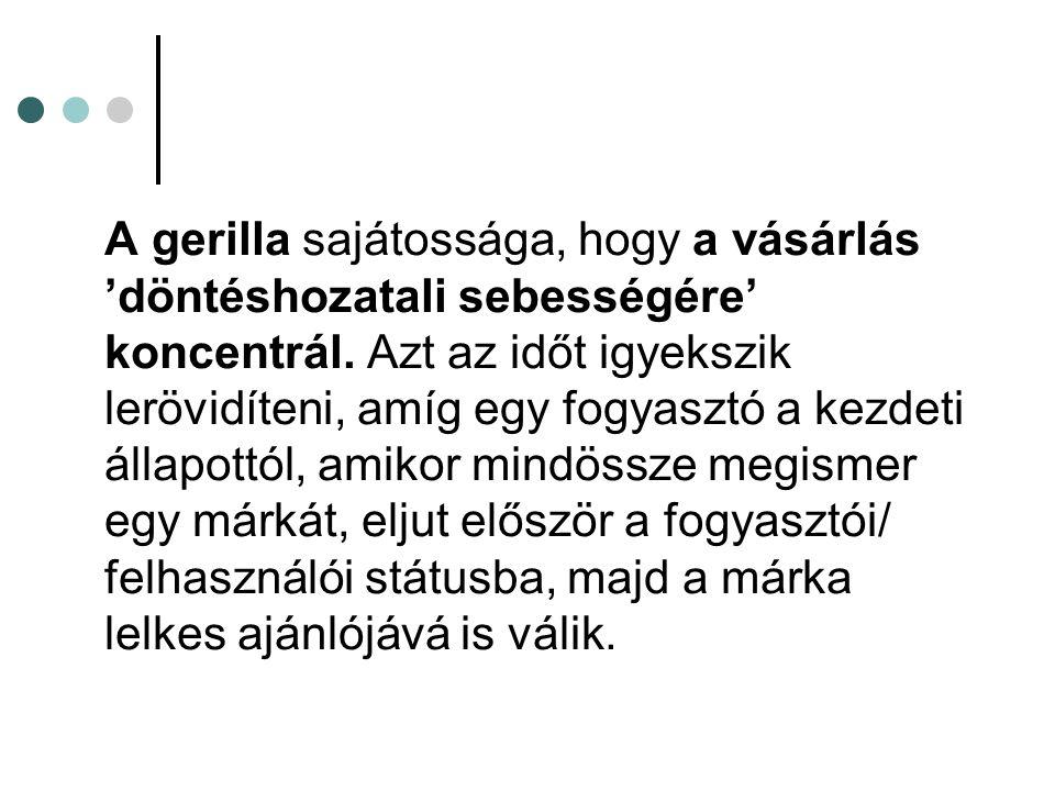 O Mega-csomópontok: azon személyek, akiknek markáns a médiajelenlétük; pl.