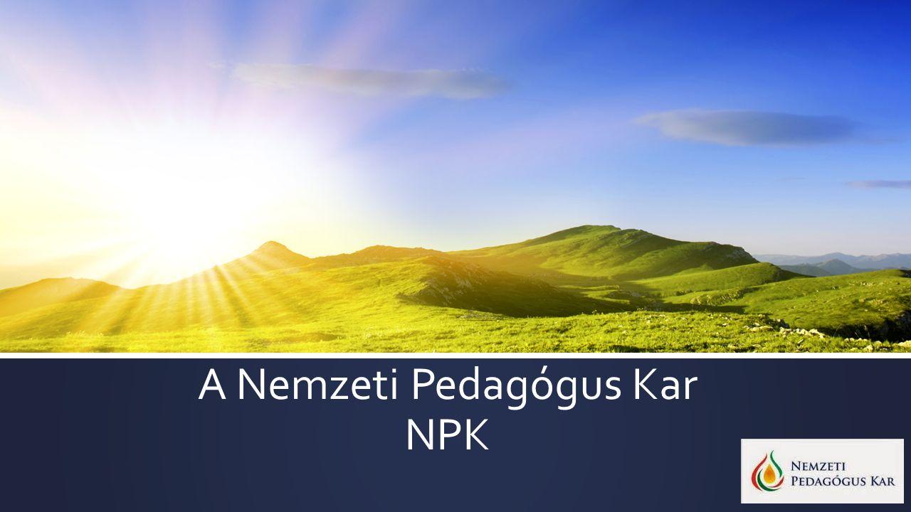 A Nemzeti Pedagógus Kar NPK
