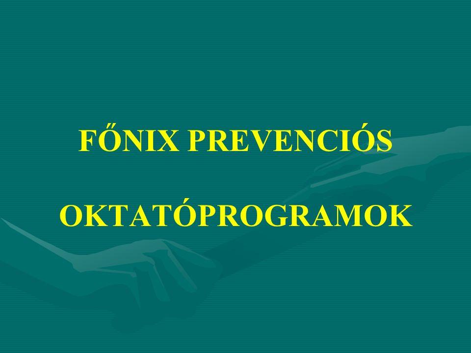 FŐNIX PREVENCIÓS OKTATÓPROGRAMOK