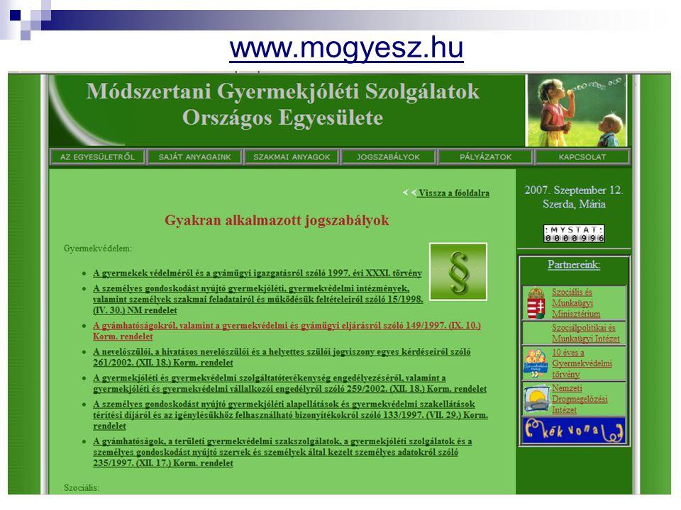 www.mogyesz.hu