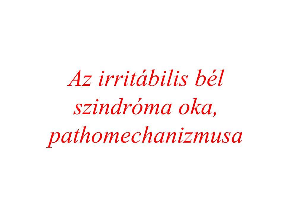 Az irritábilis bél szindróma oka, pathomechanizmusa