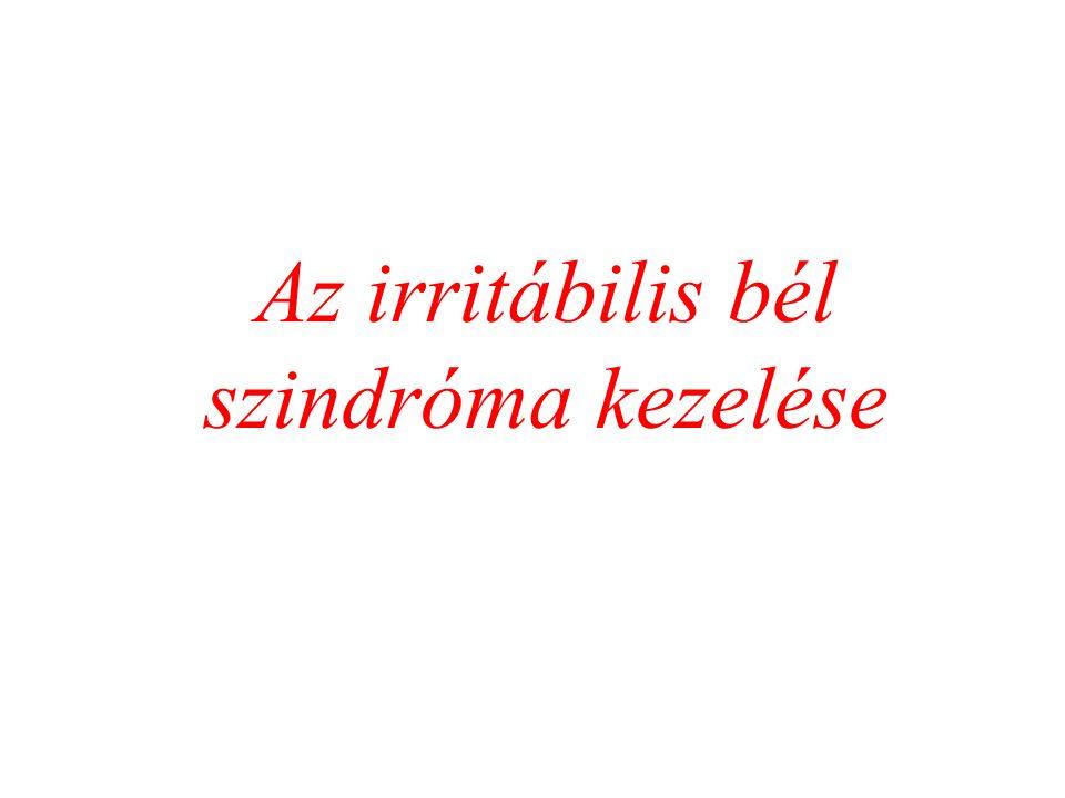 Az irritábilis bél szindróma kezelése