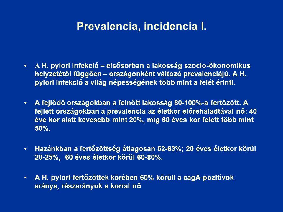 Prevalencia, incidencia I. A H.
