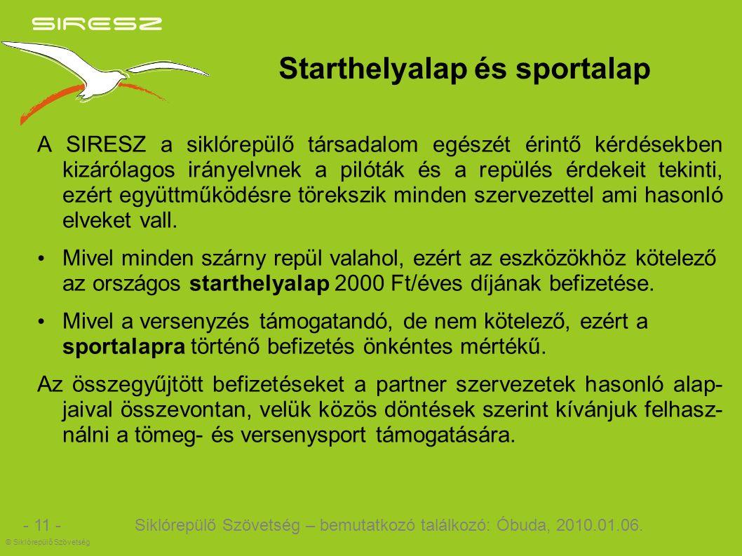 Siklórepülő Szövetség – bemutatkozó találkozó: Óbuda, 2010.01.06.