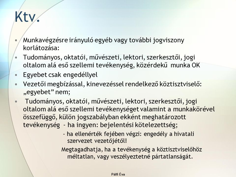 Pálfi Éva Ktv.
