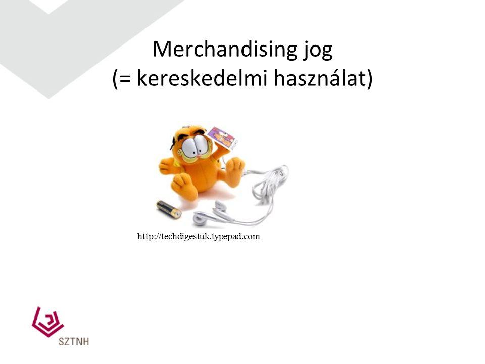 Merchandising jog (= kereskedelmi használat) http://techdigestuk.typepad.com