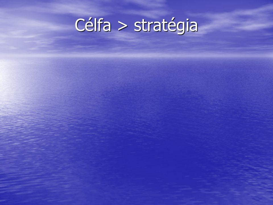 Célfa > stratégia