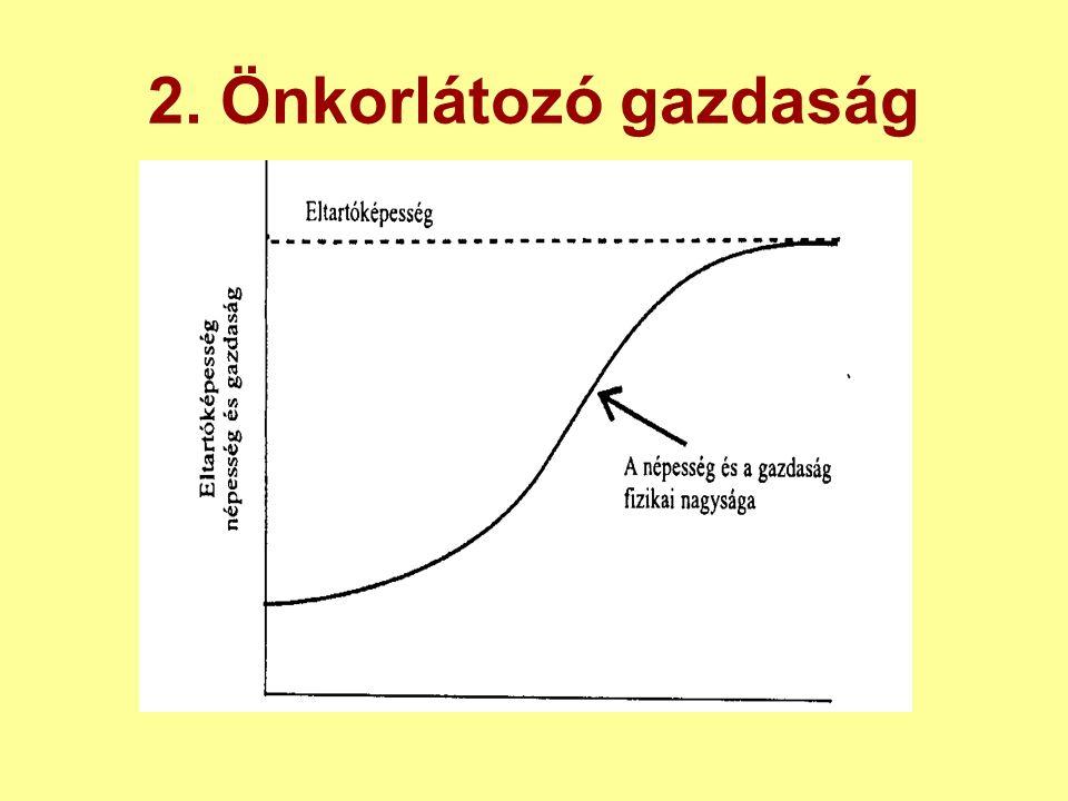 2. Önkorlátozó gazdaság