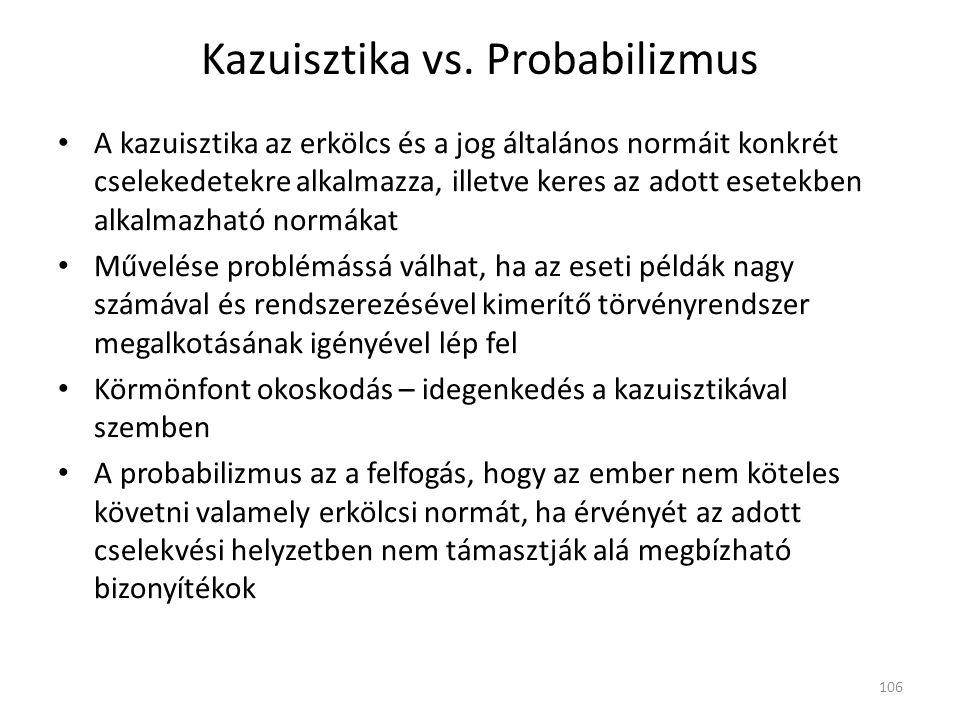 Kazuisztika vs.