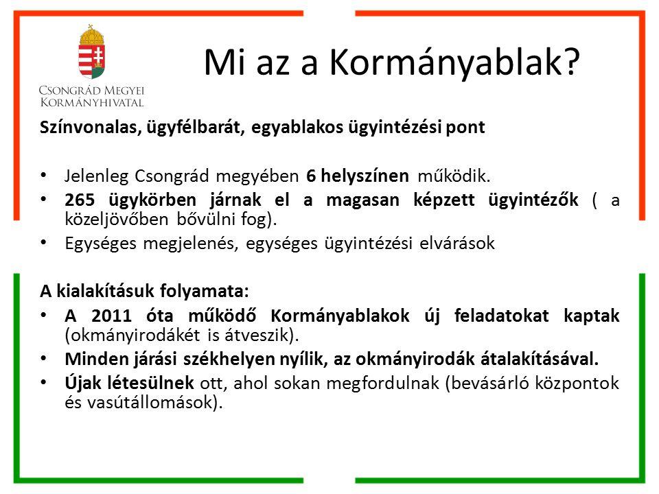 A szociális feladatokhoz kötődő kormányhivatali elérhetőségek CSMKH Családtámogatási és Társadalombiztosítási Főosztály Családtámogatási Osztály Székhelye: 6722 Szeged, Bécsi krt.