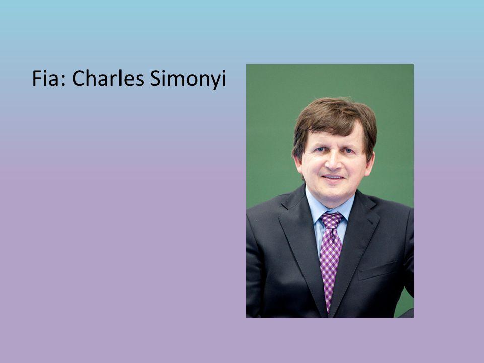 Fia: Charles Simonyi