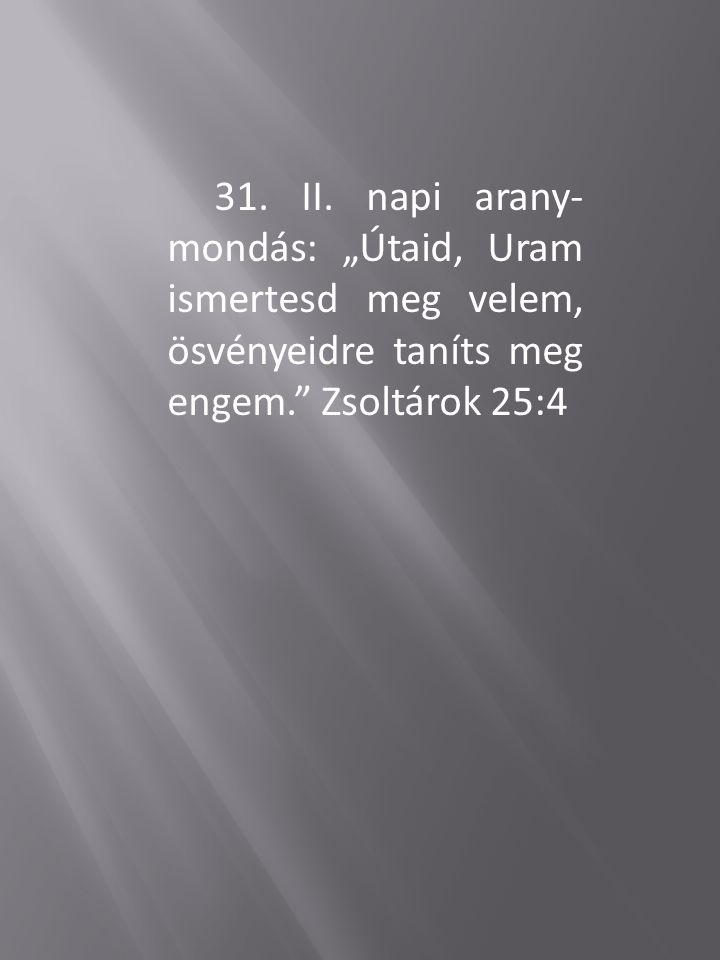 31.II.