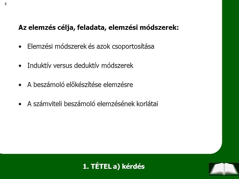 75 b) kérdés -Átmeneti és végleges különbségek.-Halasztott adókövetelés.