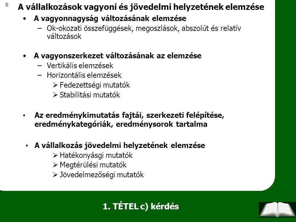 97 d.) kérdés Külföldi jog alapján létrejött vállalatok magyarországi adózása tekintettel az EU gyakorlatára Külföldi vállalkozások fogalma TAO szabályok az esélyegyenlőség szerint Eltérések a nemzeti jogban