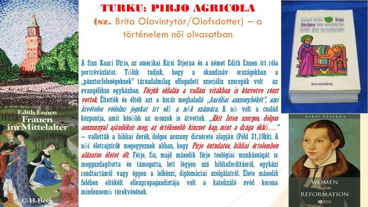 TURKU: PIRJO AGRICOLA (sz.