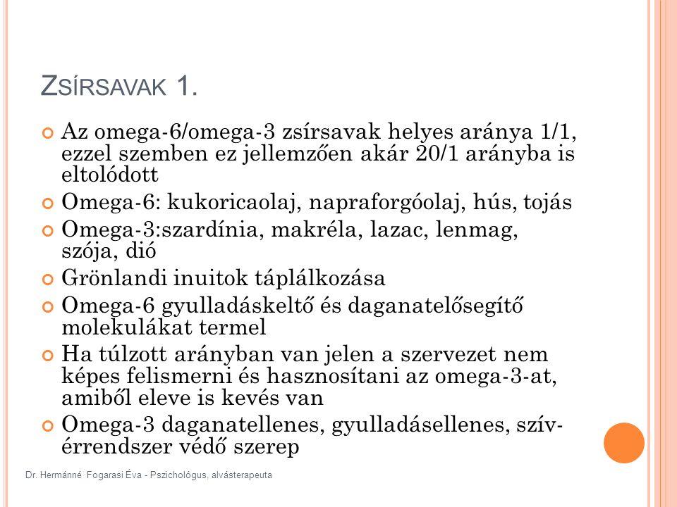 Dr. Hermánné Fogarasi Éva - Pszichológus, alvásterapeuta Z SÍRSAVAK 1.