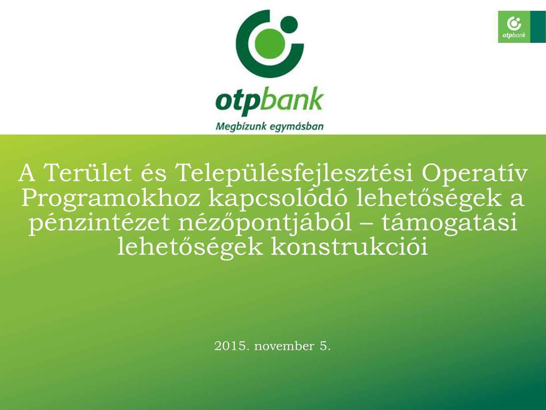 OTP Bank önkormányzati piaci részesedése a Veszprém megyei települések tekintetében 2 Az OTP Bank részesedése a KKV szektorban 25%.