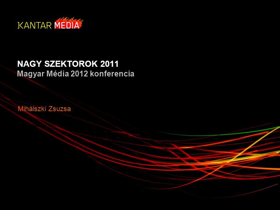 NAGY SZEKTOROK 2011 Magyar Média 2012 konferencia Mihálszki Zsuzsa