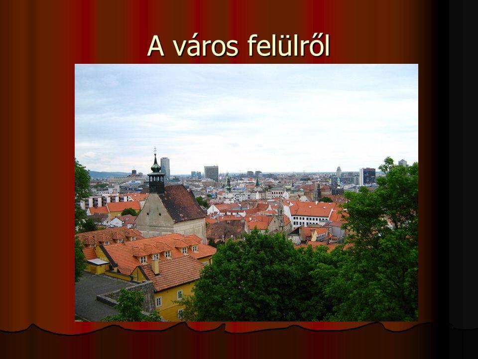 A város felülről
