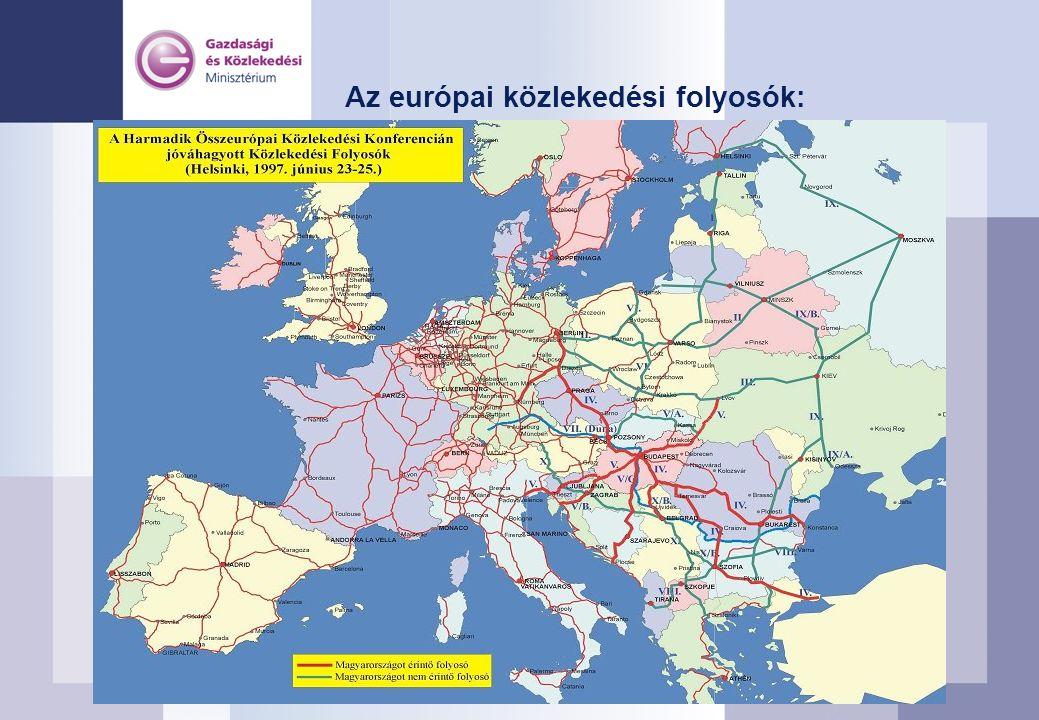 A gyorsforgalmi úthálózat elérhetősége 15 és 30 perces vonzáskörzetek 2003-ban