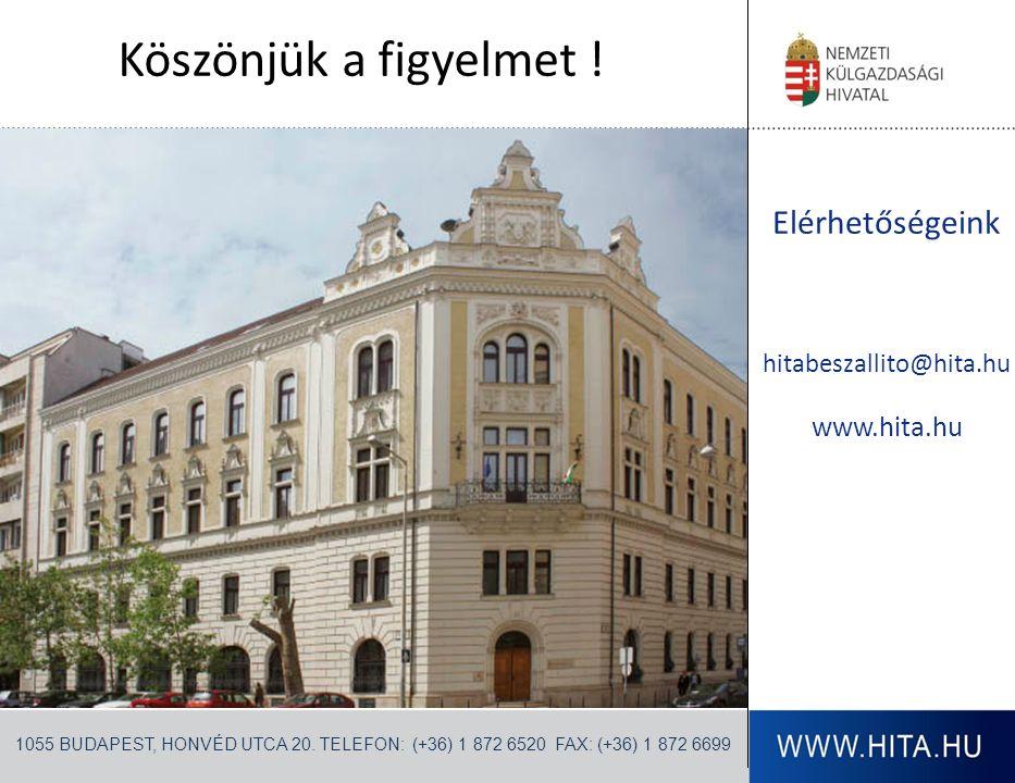 Elérhetőségeink hitabeszallito@hita.hu www.hita.hu 1055 BUDAPEST, HONVÉD UTCA 20. TELEFON: (+36) 1 872 6520 FAX: (+36) 1 872 6699 Köszönjük a figyelme