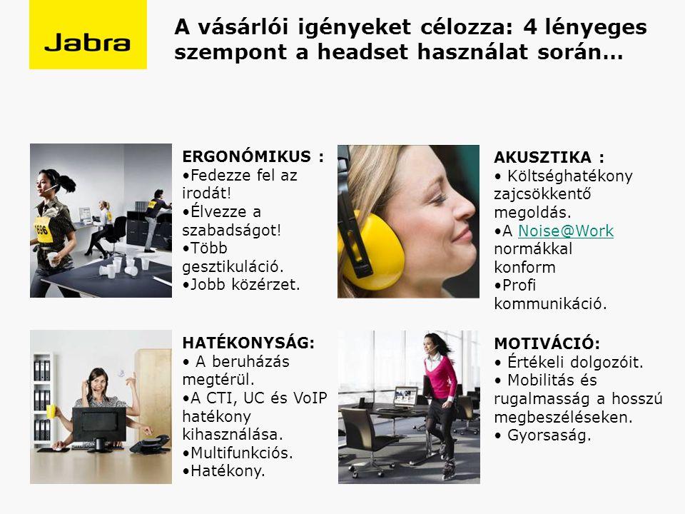 A vásárlói igényeket célozza: 4 lényeges szempont a headset használat során… ERGONÓMIKUS : Fedezze fel az irodát.