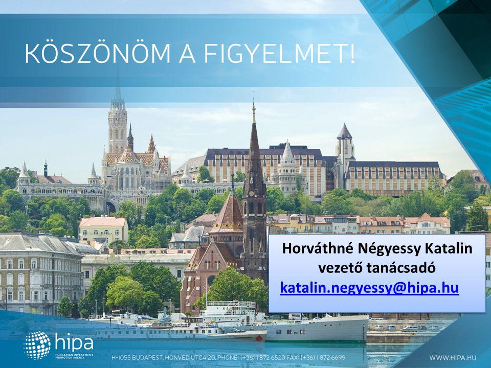 Horváthné Négyessy Katalin vezető tanácsadó katalin.negyessy@hipa.hu