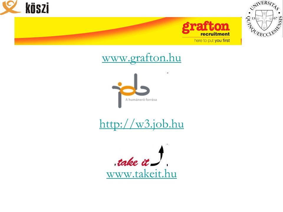 www.grafton.hu http://w3.job.hu www.takeit.hu