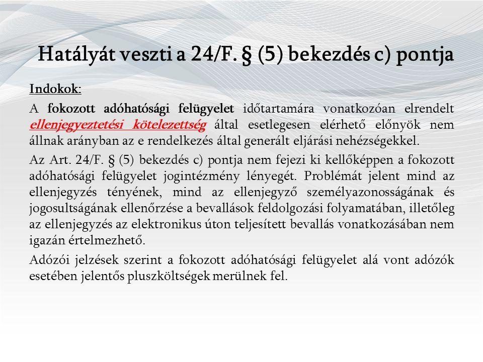 Hatályát veszti a 24/F.