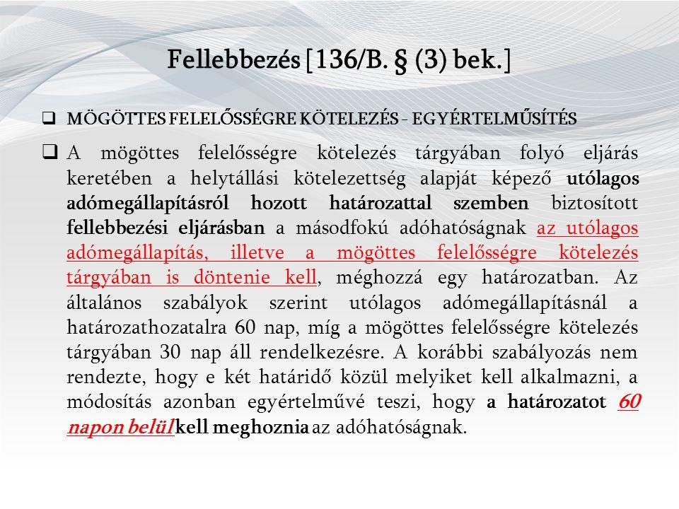 Fellebbezés [136/B.