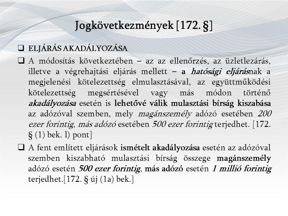 Jogkövetkezmények [172.