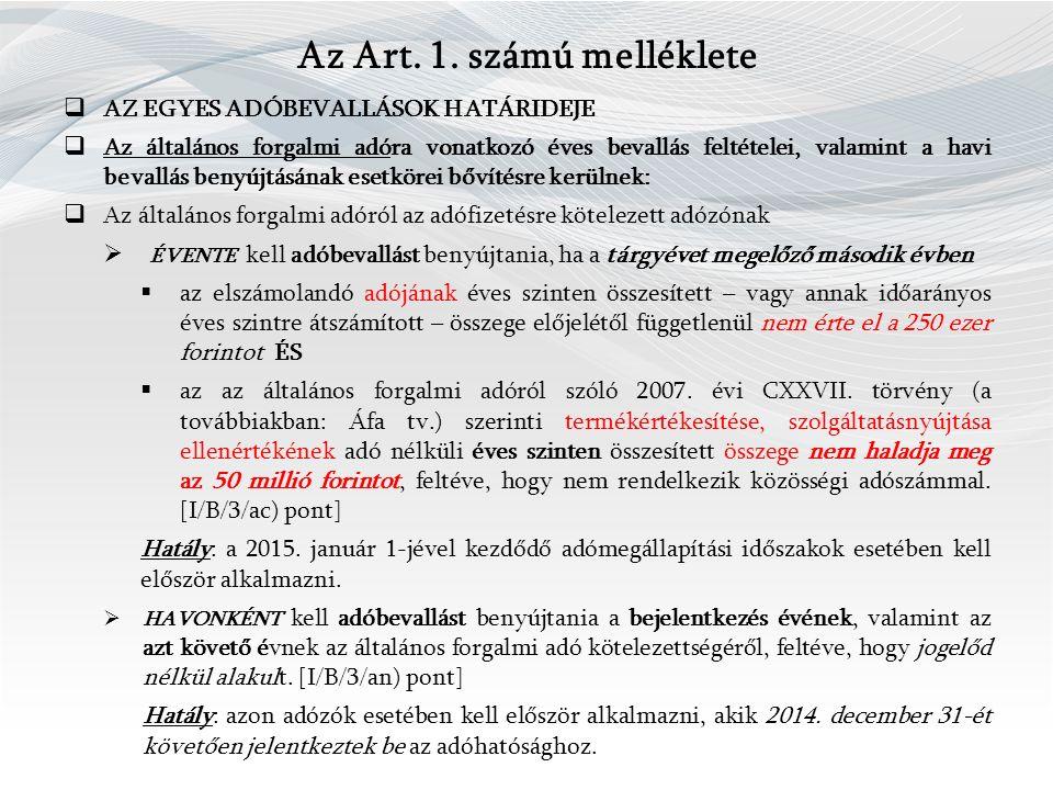 Az Art. 1.