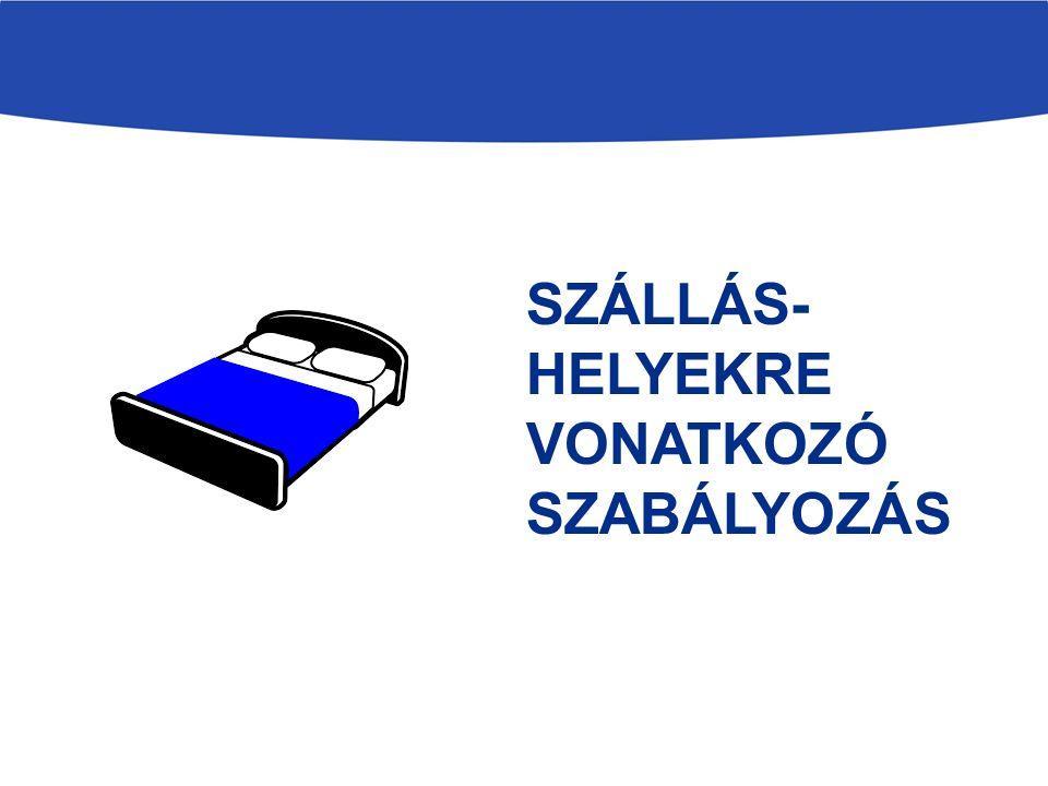 SZÁLLÁS- HELYEKRE VONATKOZÓ SZABÁLYOZÁS