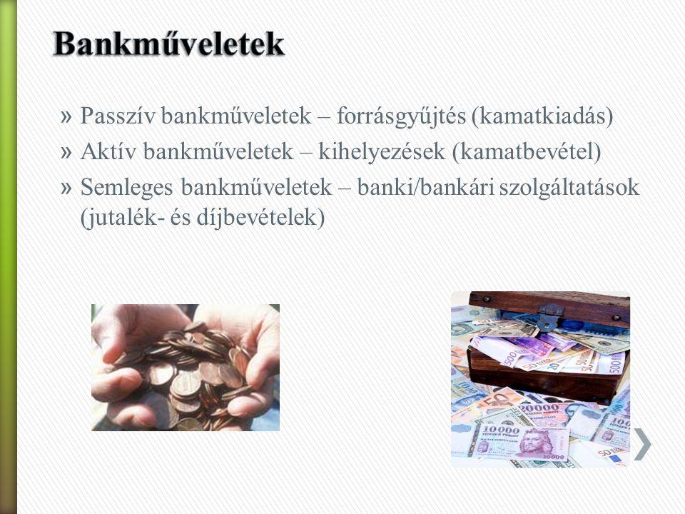 » Túlzott likviditás: hitel-kihelyezési képesség csökken – jövedelmezősség csökken » Túlzott jövedelmezősség: magas hozam – növekvő kockázat – csökkenő biztonság/fizetőképesség » Túlzott biztonság – a kockázat minimalizálása – jövedelmezősség csökkenése » Következtetés: a 3 feltételnek egyidejűleg megfelelni NEM LEHET!!