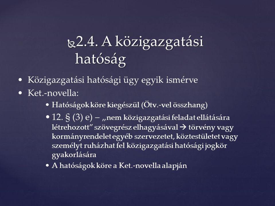  5.13.Szakhatóság II.