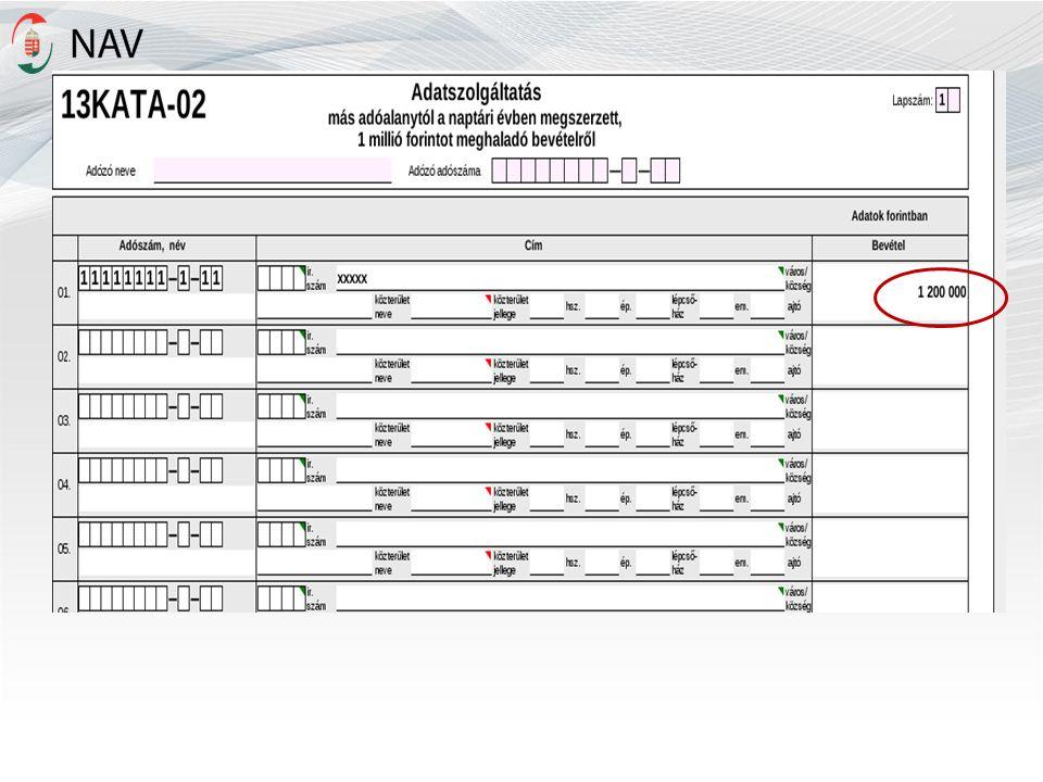 Szakképzési hozzájárulás elszámolása 2013.december 31-42.