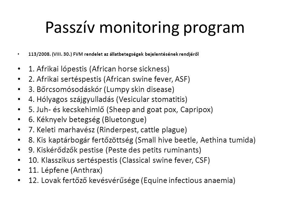 Passzív monitoring program 13.