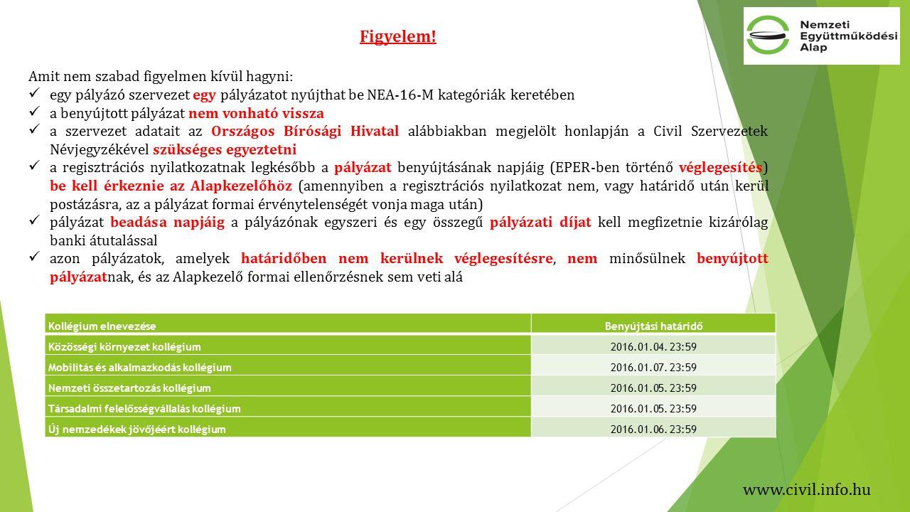 www.civil.info.hu Figyelem.
