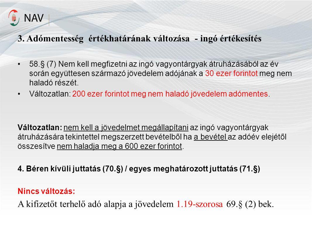 Bevallási nyilatkozat (Art 26/A.§, Szja tv.