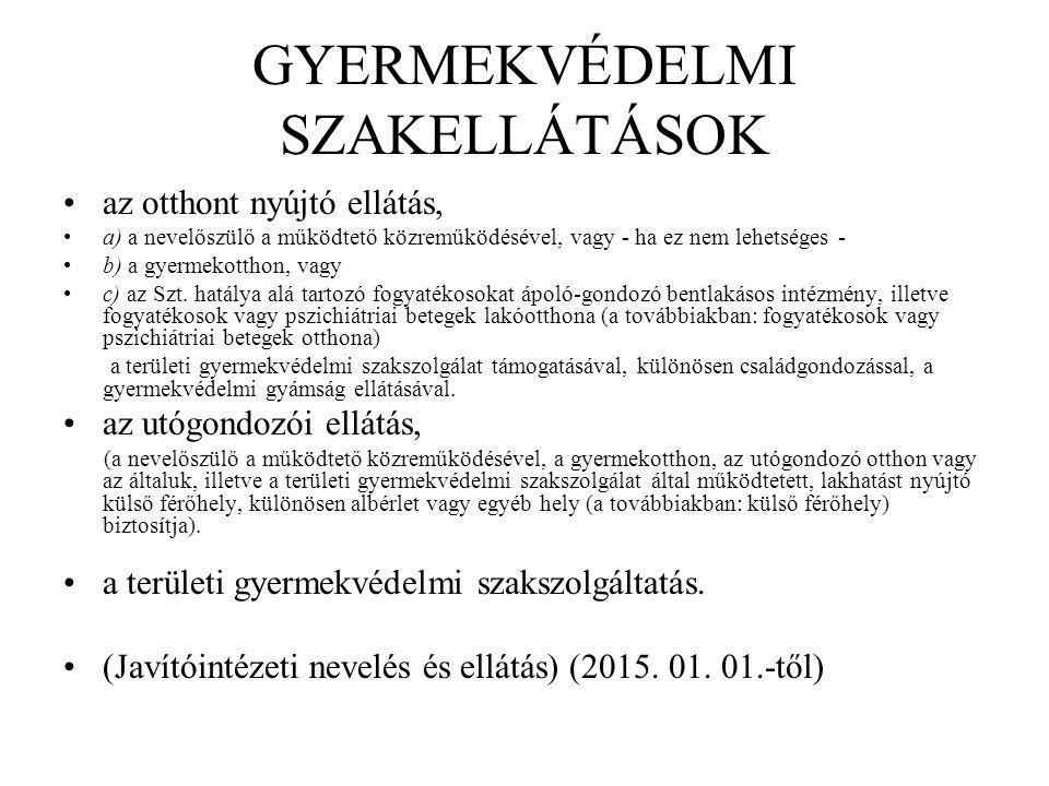TELEPÜLÉSI ÖNKORMÁNYZAT FELADATAI (2) A települési önkormányzat az e törvényben foglaltak szerint biztosítja a személyes gondoskodást nyújtó alapellátások keretében - a (3)-(4) bekezdésben meghatározottak figyelembevételével - a gyermekjóléti szolgáltatást, a gyermekek napközbeni ellátását, a gyermekek átmeneti gondozását, szervezi és közvetíti a máshol igénybe vehető ellátásokhoz való hozzájutást.