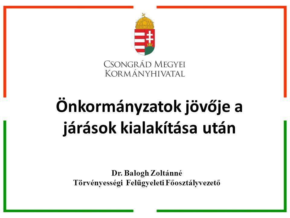 Önkormányzatok jövője Magyarország helyi önkormányzatairól szóló 2011.