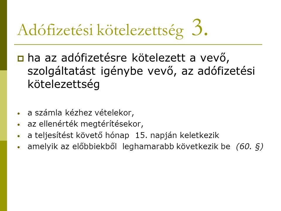 Adófizetési kötelezettség 3.