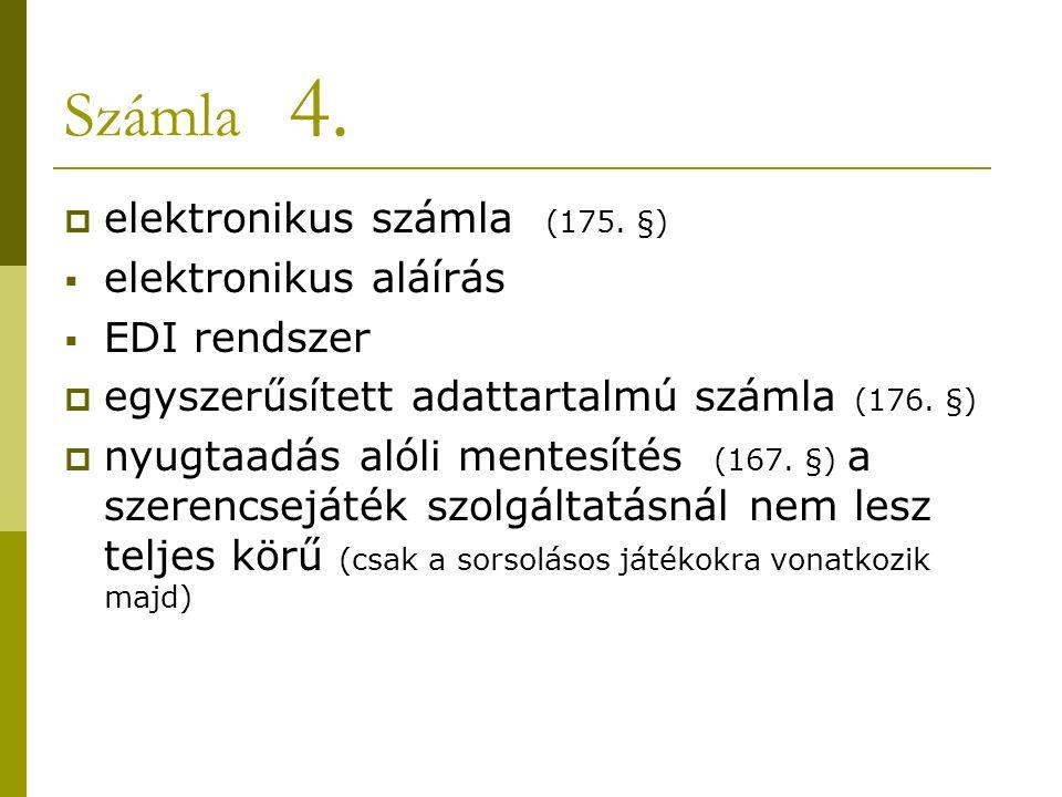 Számla 4.  elektronikus számla (175.